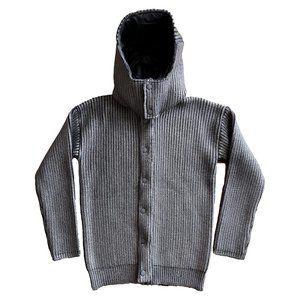 Burberry Prorsum Metallic Painted Hooded Jacket